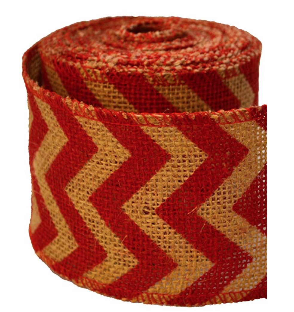 Striped Burlap ($9.99)