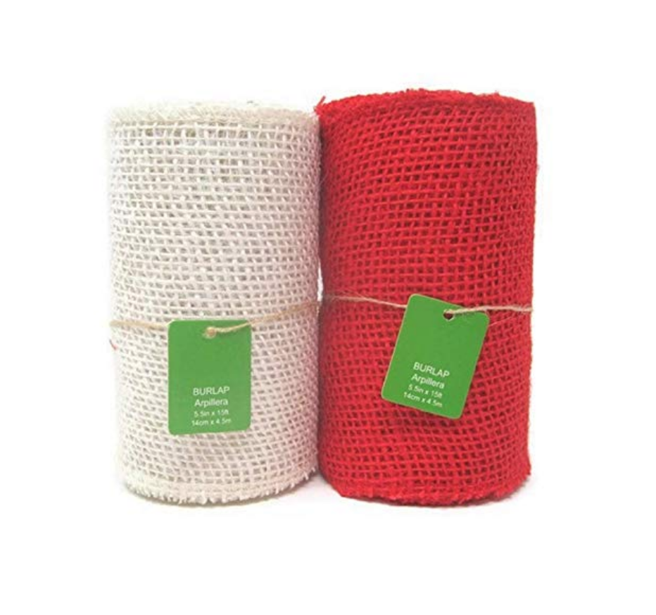 Burlap Ribbon Set ($21.38)