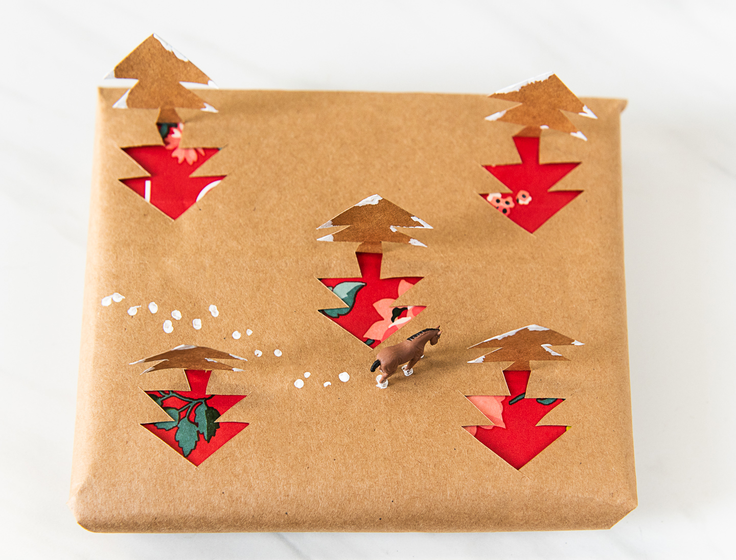 Diy 3d Wrapping Paper From Upcycled Shopping Bags Compost