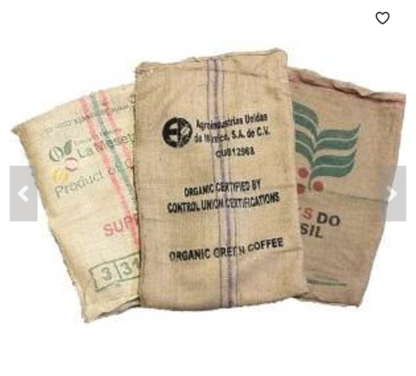 Lot of Coffee Sacks ($13.00)