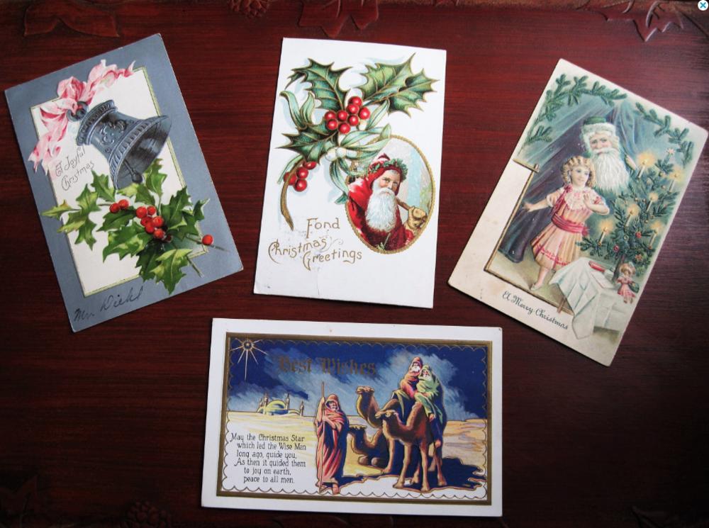 Vintage Postcards ($8.00)