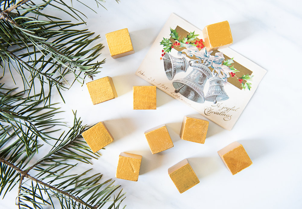 DIY Christmas Block Puzzle Made From Upcycled Vintage Postcards-7739.jpg