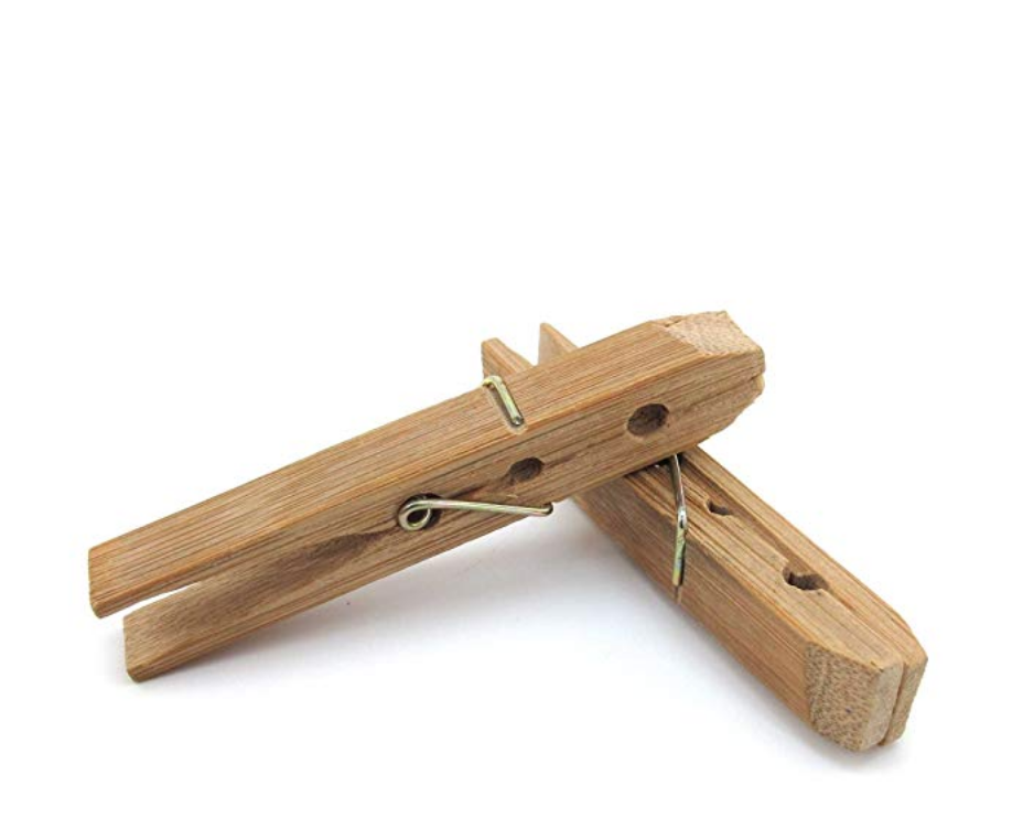 Bamboo Clothes Pins ($9.99)