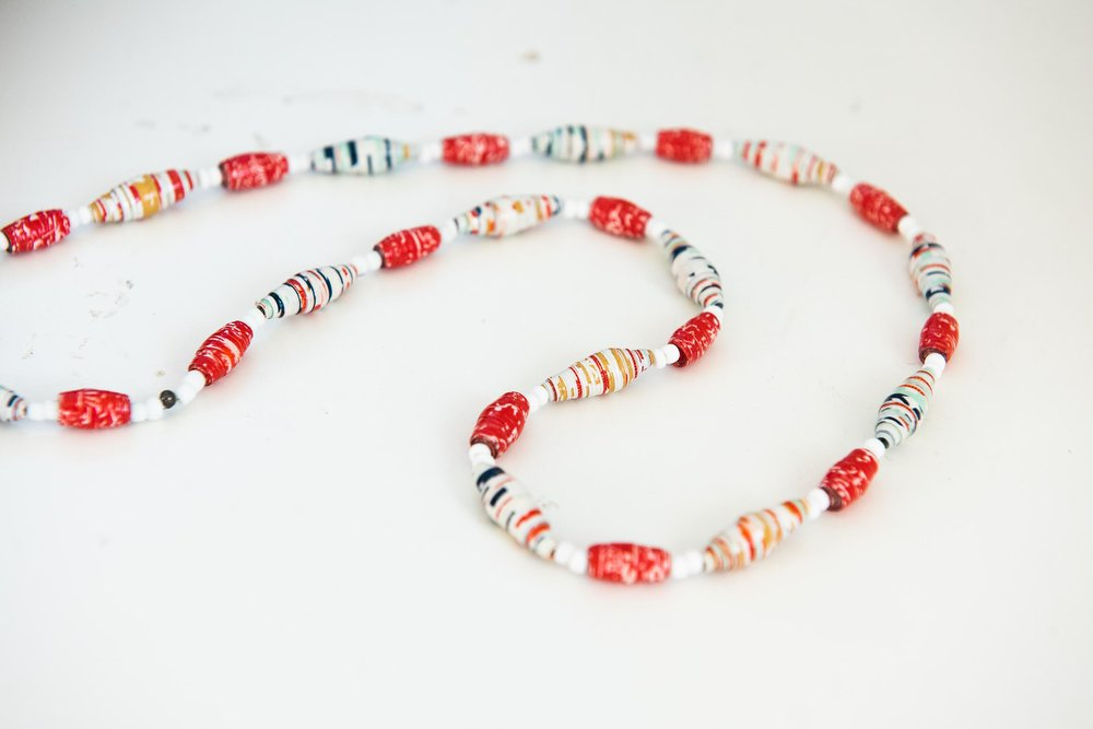 How to Upcycle Wrapping Paper into Boho Paper Bead Necklaces-8843.jpg
