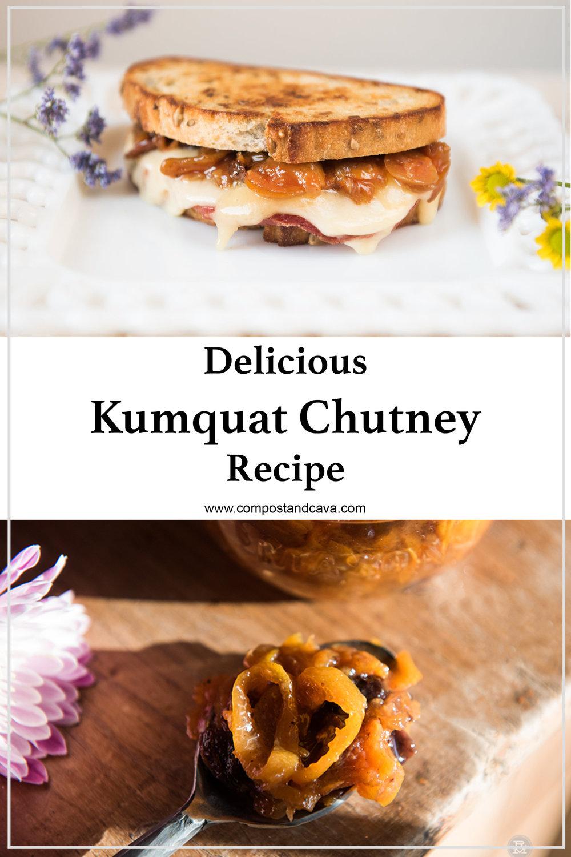 Delicious Kumquat Chutney Recipe