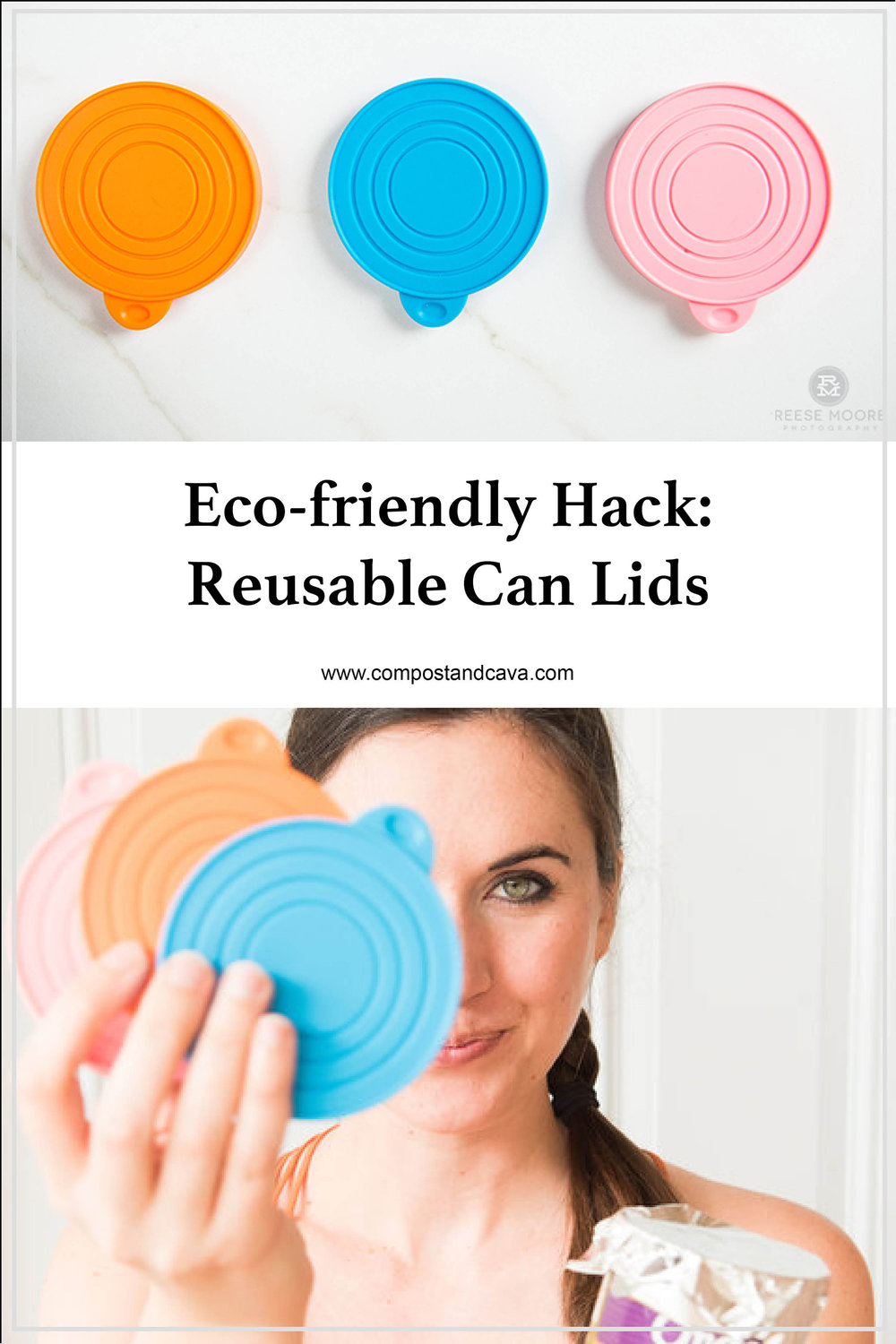Eco-friendly Kitchen Hack- Reusable Can Lids