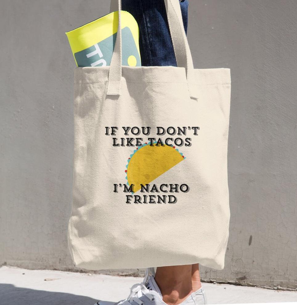 Funny Taco Tote