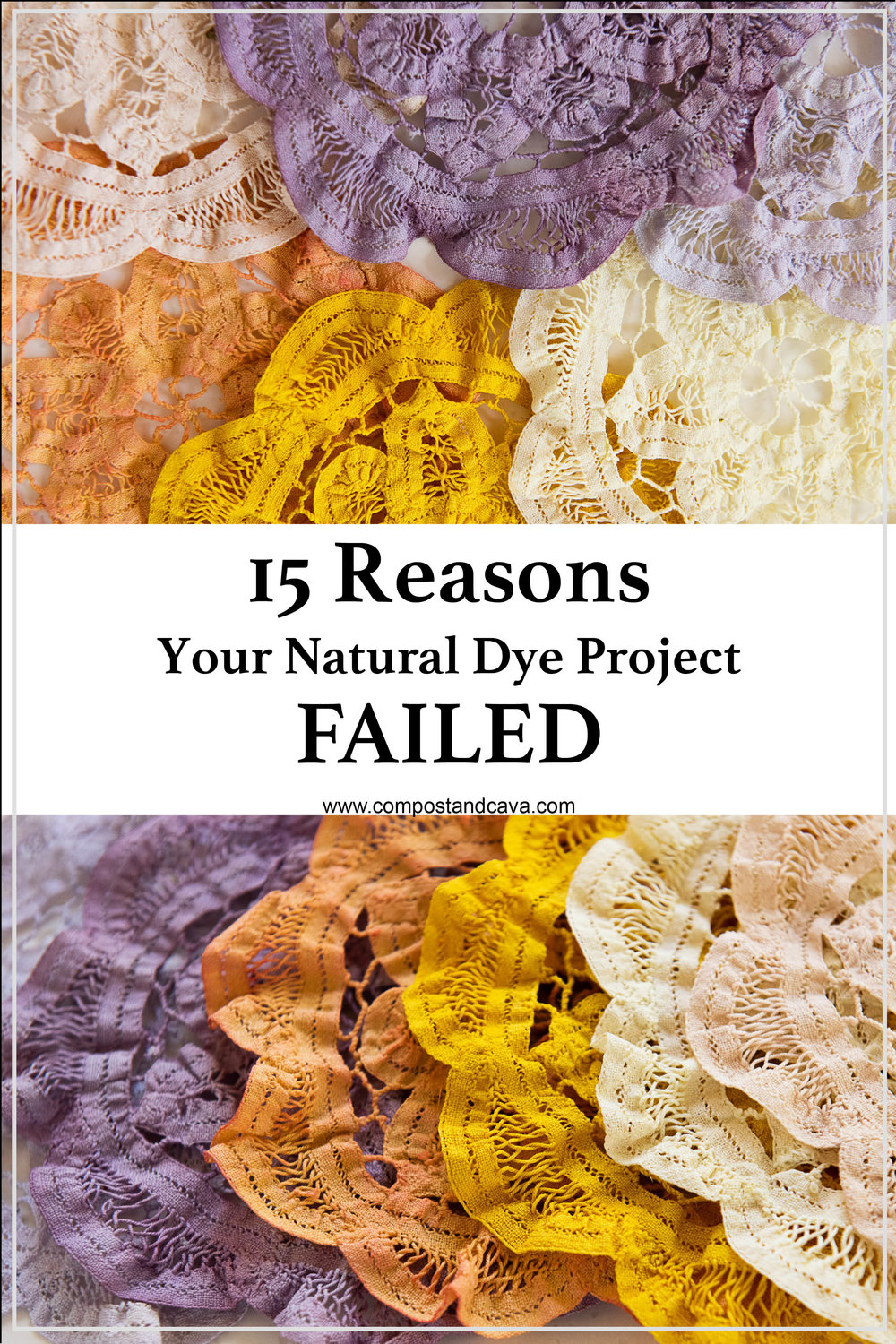 15 Reasons Your Natural Dye Project Failed