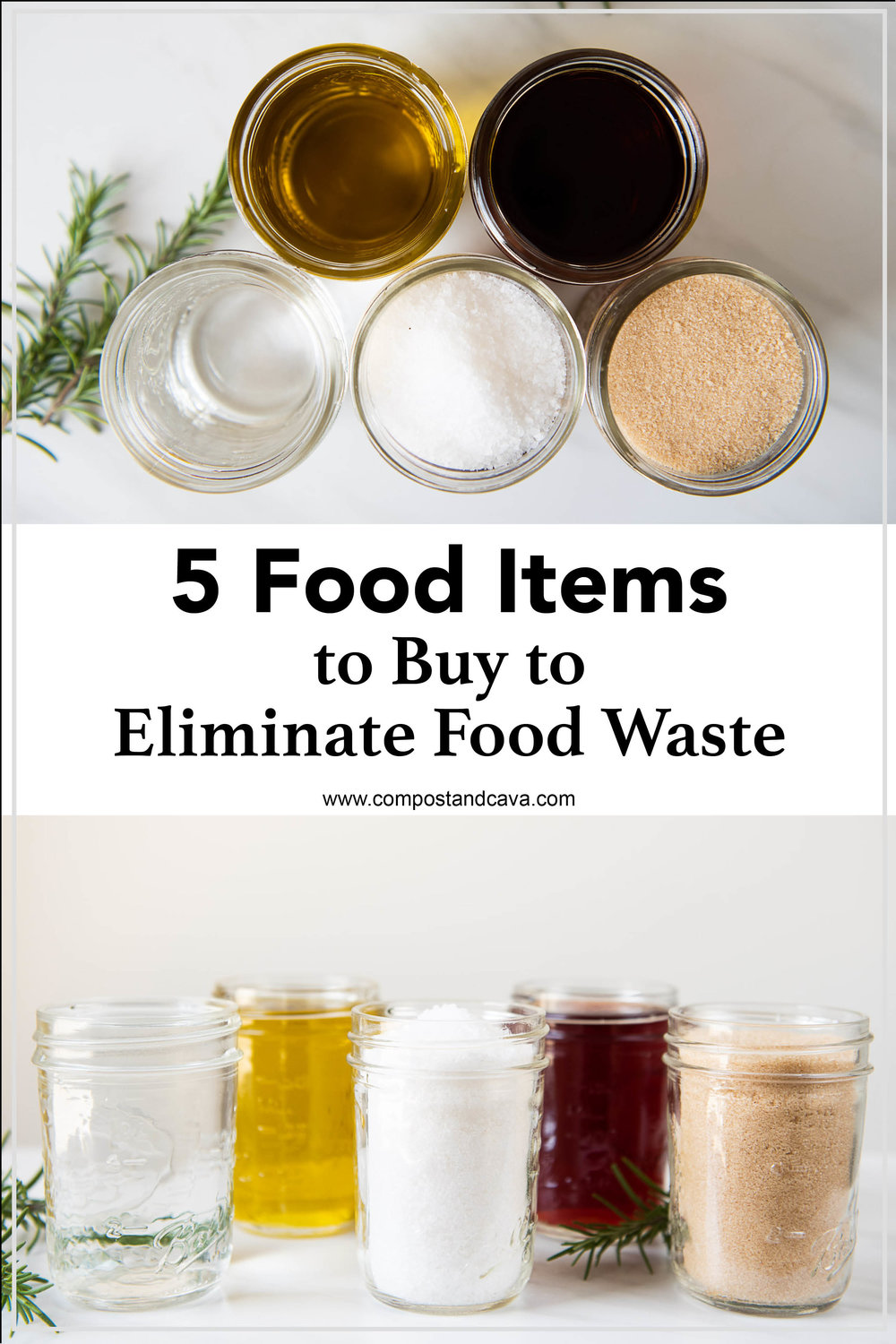 5 Food Items to Stock Up On to Help Eliminate Food Waste and Stretch Your Budget