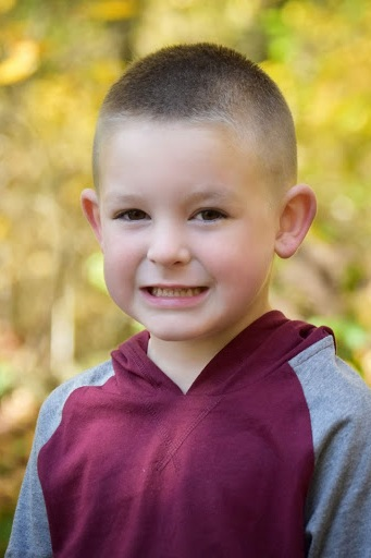 Mason Lawson, Age 5 - Mason is five years old and attends kindergarten in Campbell County. He plays basketball and baseball, but enjoys most being outside. Mason has a big heart for the world and wants to be a helper when he grows up. He plans to do this by flying a medical helicopter.