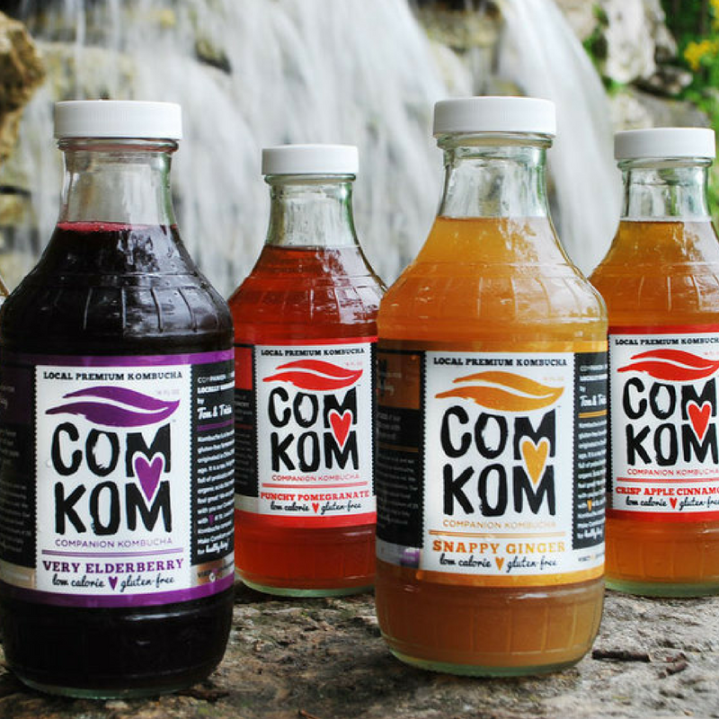 Companion Kombucha is St. Louis's largest craft kombucha brewery.