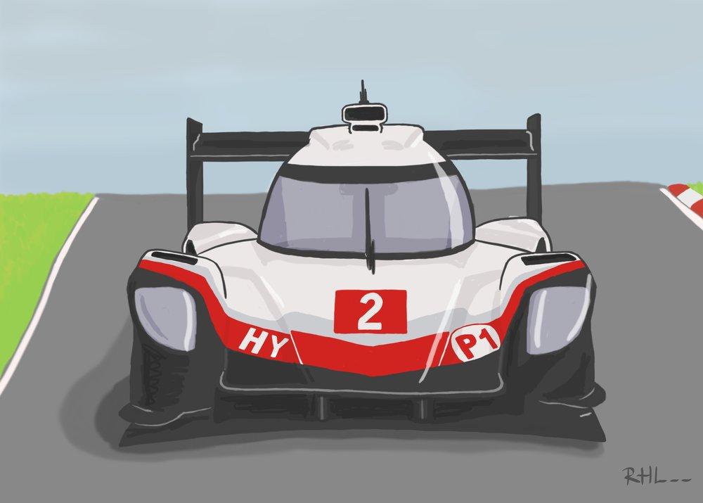 Porsche LMP1 #2