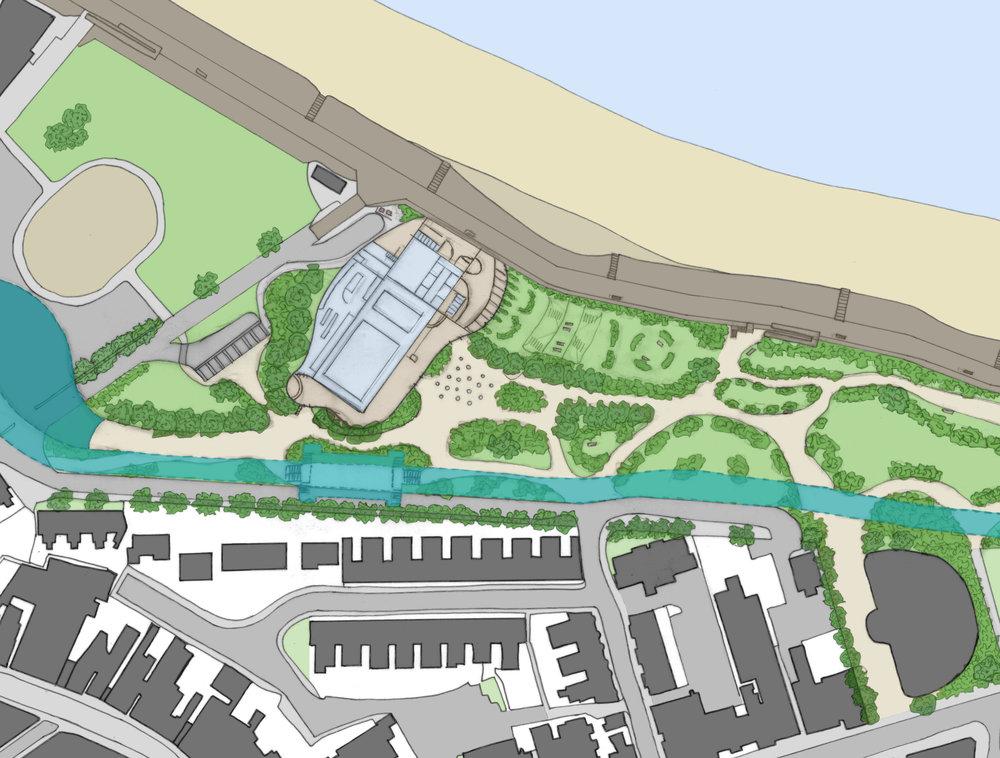 Orthographics - Sheppey Aquatics Centre