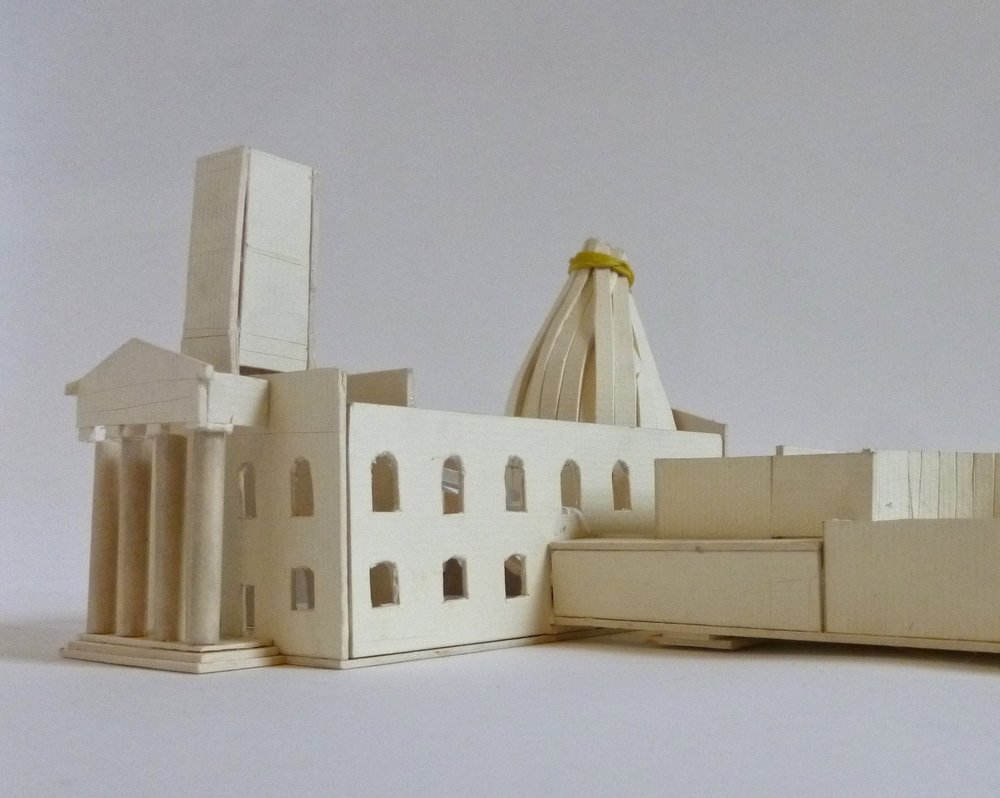 Concept Model - Sheerness Dockyard Church