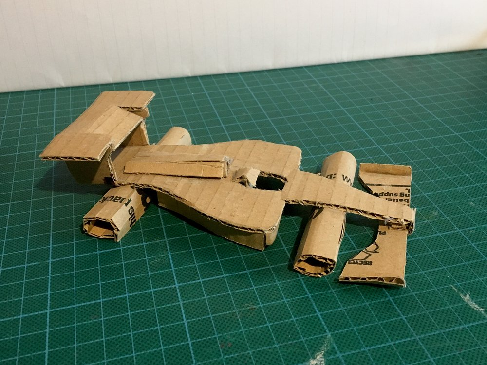 Cardboard F1