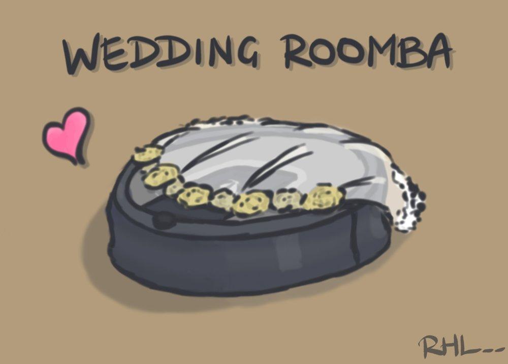 Wedding Roomba