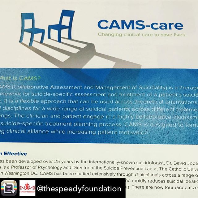 Repost from @thespeedyfoundation - Thanks to funds received from @impactclubteam , we are excited to sponsor 50 seats at the CAMS-care training at the #WSCOS at @boisestateuniversity on Oct 23. Register: www.WSCOS.org Use code: TSFCAMScareWSCOS