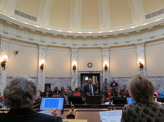 """No state has taken that deep a dive into it,"" Wilder told lawmakers. He said funding came from St. Luke's, Saint Alphonsus, Blue Cross of Idaho, the Albertson Foundation, and the Laura Moore Cunningham Foundation. ""There's no way we can do this with just the state,"" Wilder said. ""It's the boots on the ground. It's the hospital systems. It impacts everybody."" In 2016, Idaho had the 8th highest suicide rate in the nation; national rankings haven't yet been compiled for 2017. But Idaho's been in the top 10 for decades. Its 2016 rate was 50 percent higher than the national average."