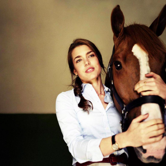 Charlotte Casiraghi for GCT Magazine