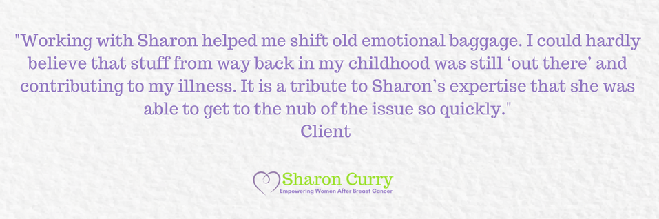 Sharon Curry Breast Cancer Coaching