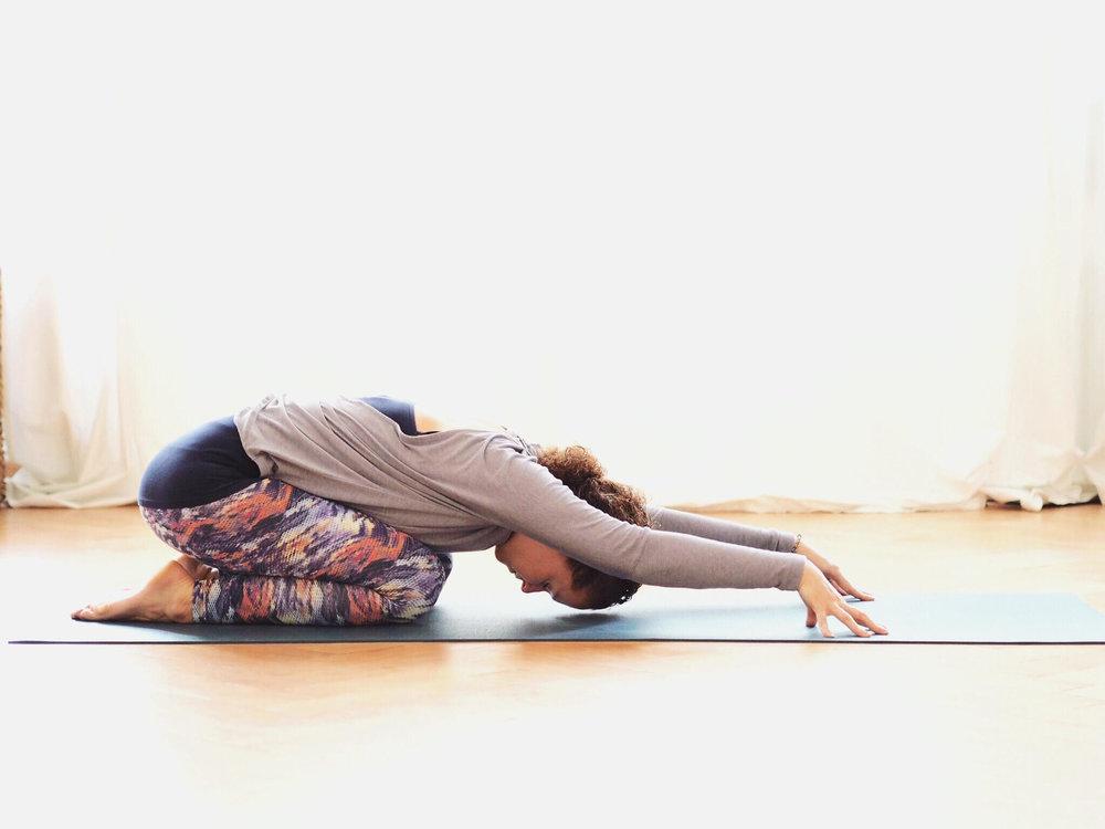 Childspose Yin Yoga