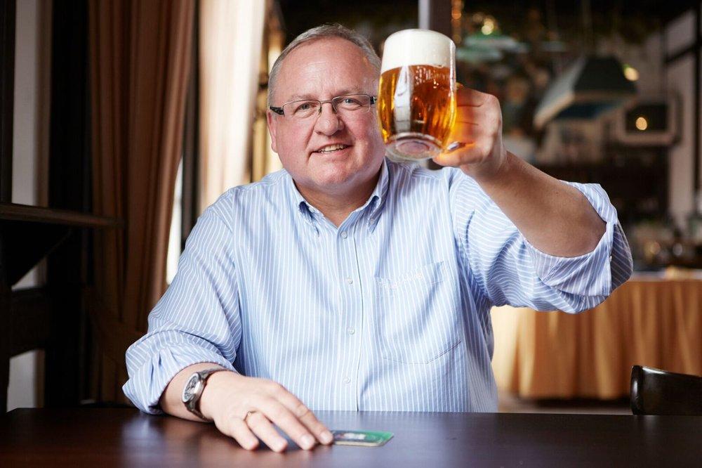 VACLAV BERKA —Brewmaster at Pilsner Urquell