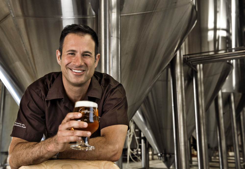 SAM CALAGIONE —Founder and President of Dogfish Head Brewery