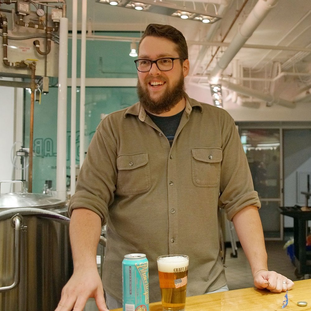 BRAIN REED —Trade Brewer for Tenth and Blake Beer Company
