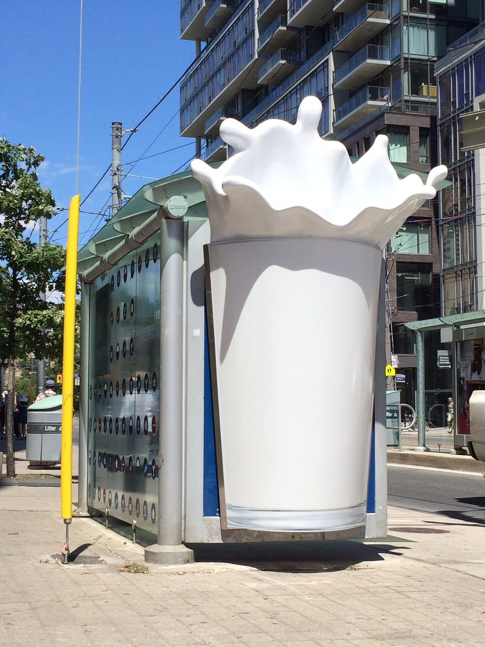 3D Interactive Milk Display for Dairy Farmers of Canada