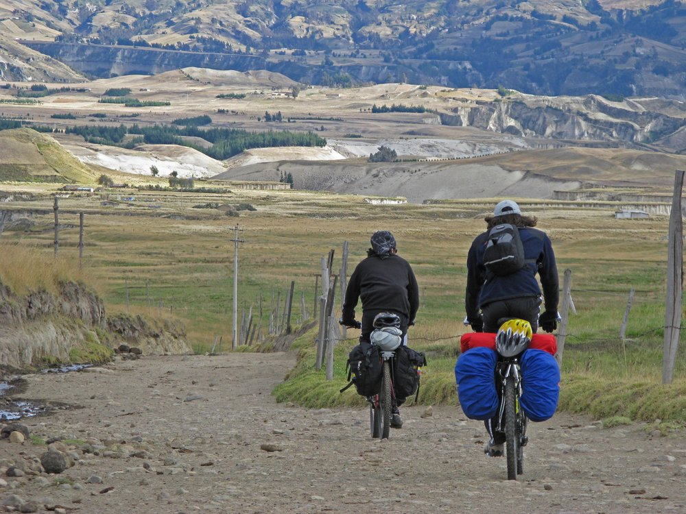 bikepacking ecuador adventure tour