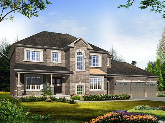 - THE BRIARWOOD ELEVATION B