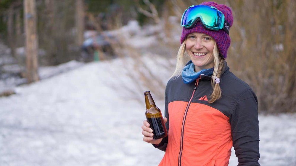 FINDING FREEDOM IN THE MOUNTAINs. jordie karlinski on her transition from park to pow. -