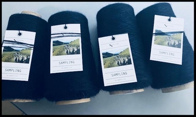 Super fine alpaca yarn from peru.