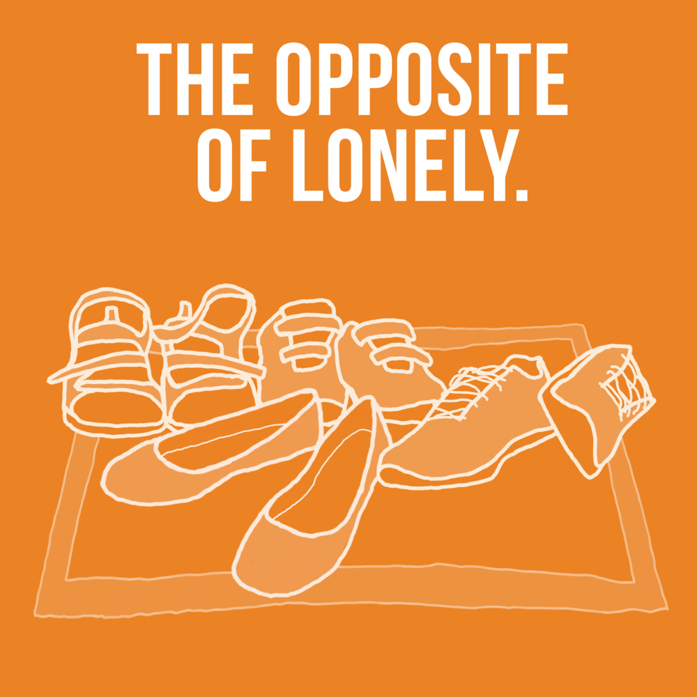 """The Opposite Of Lonely. Who are """"your people""""? Where is everyone hanging out? What puts the quality in quality time? Come join Nadia and friends as they chat about social connectedness."""