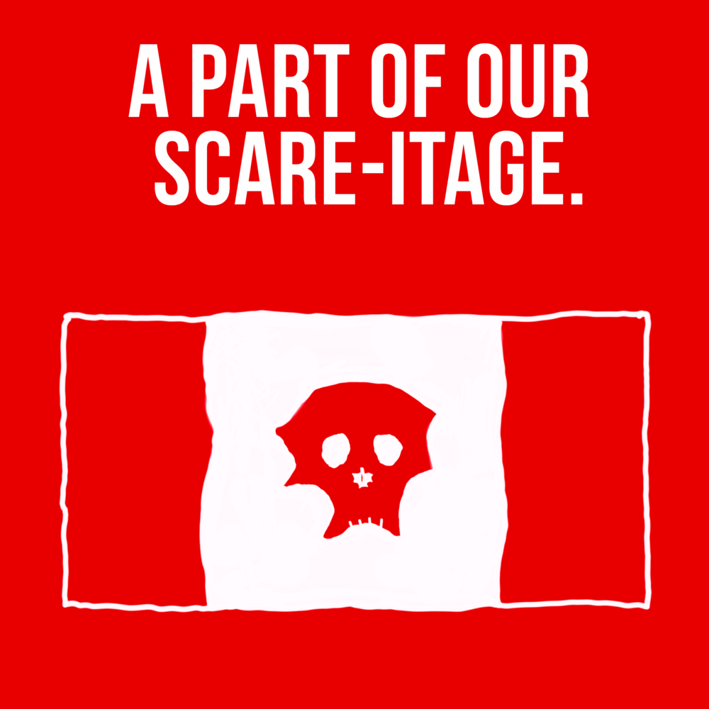 Coming soon!  A Part Of Our Scare-itage . Sarah & Adam watch all the classic and not-so-classic Canadian horror movies.