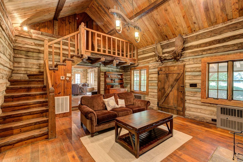 cabin rental near winston salem nc