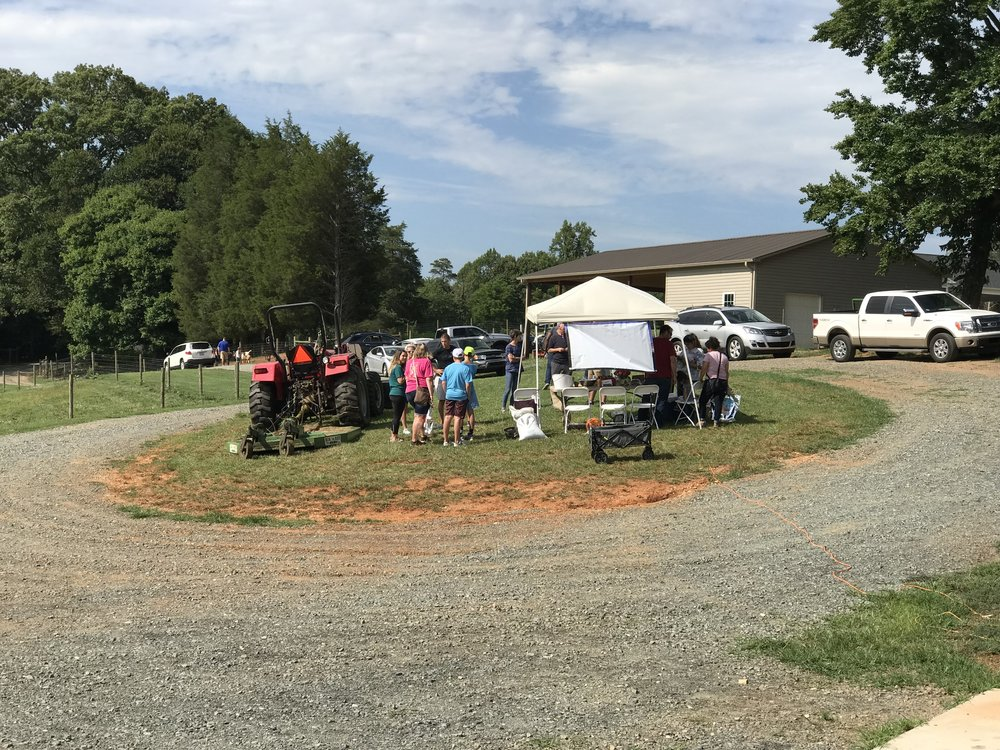 free community farm event at Old Holler Farm in Rural Hall, NC