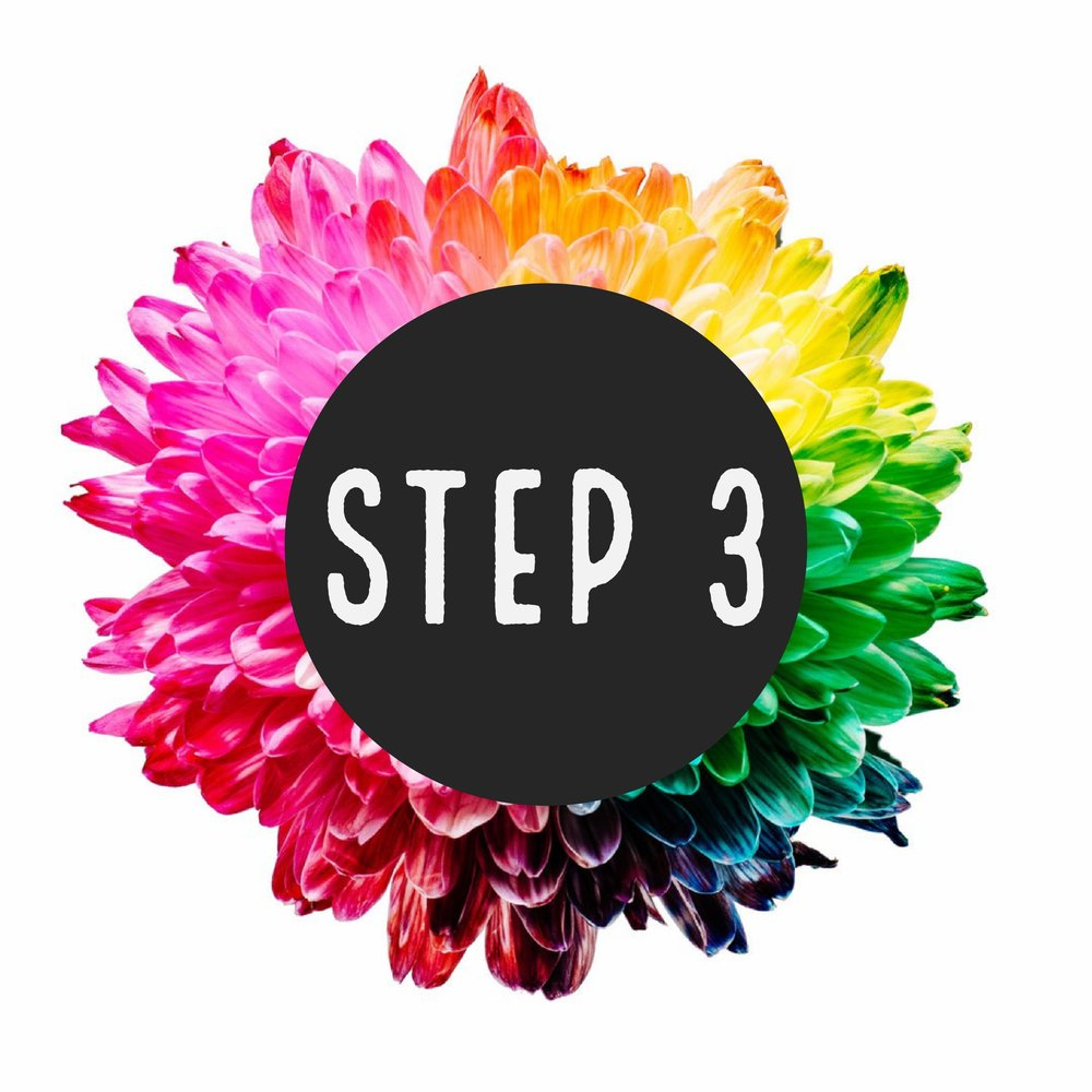 beautiful beginnings, llc step 3 logo design