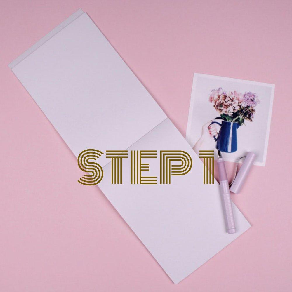 Beautiful Beginnings, LLC Stationary Design Process