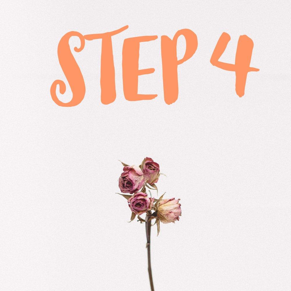 Beautiful Beginnings, LLC step 4 Stationary Design Process
