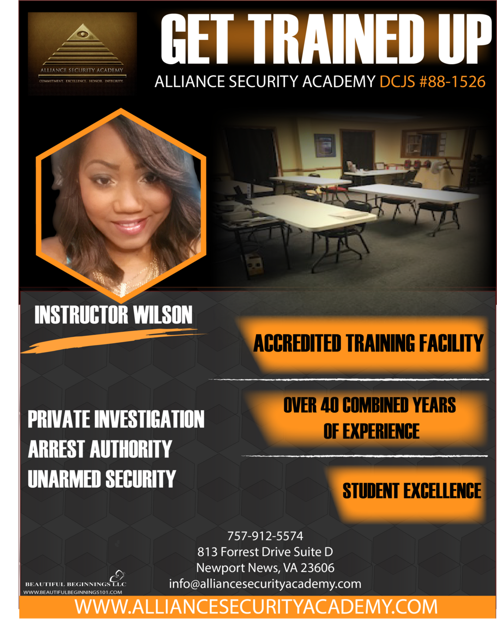 TRAINING FLYER CORPORATE