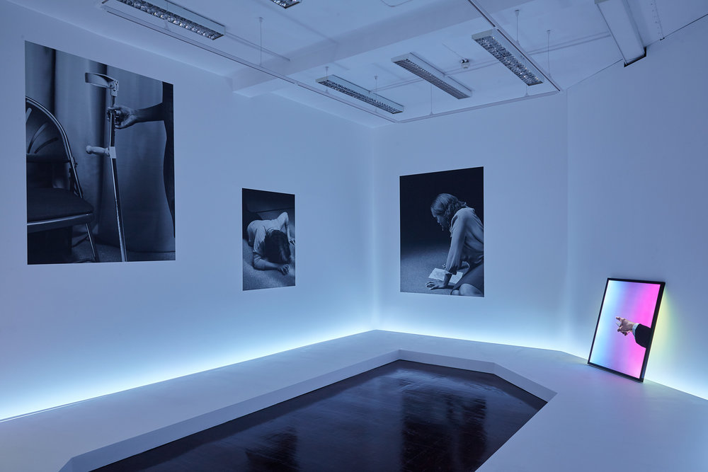 Dominic Hawgood, Under The Influence, installation shot from T J Boulting, 2015. Courtesy the Artist and T J Boulting.