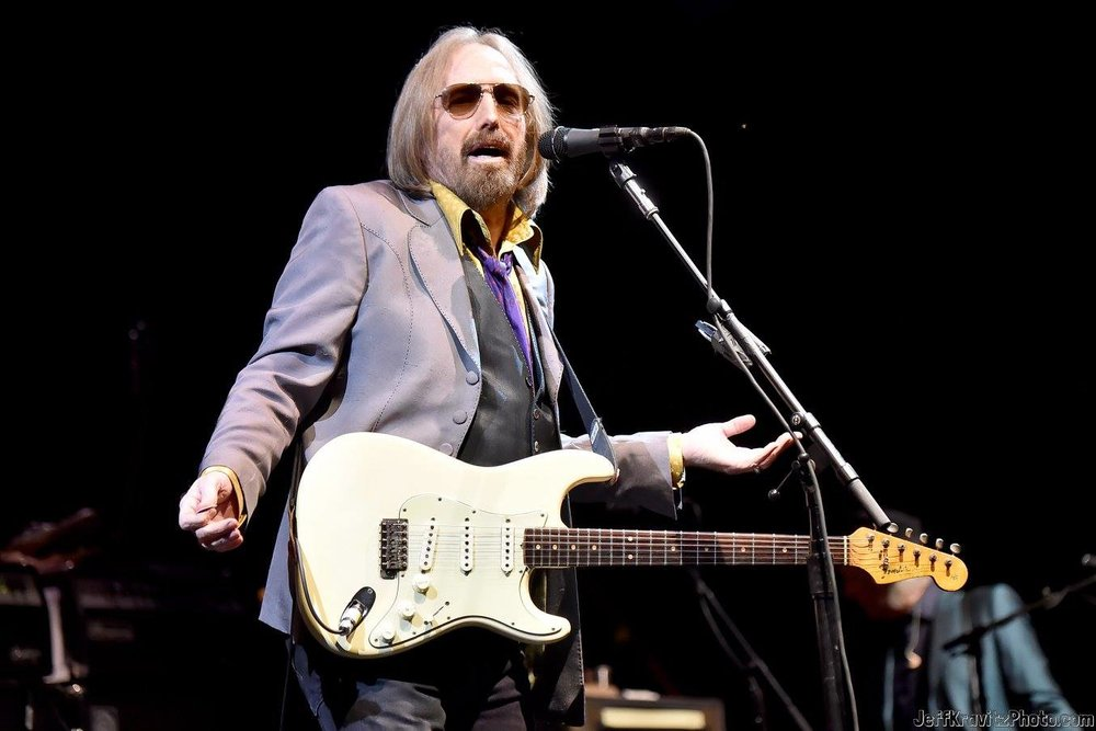 Tom Petty of Tom Petty and the Heartbreakers performs on The Oaks stage during Arroyo Seco Weekend at the Brookside Golf Course at on June 24, 2017 in Pasadena, California.