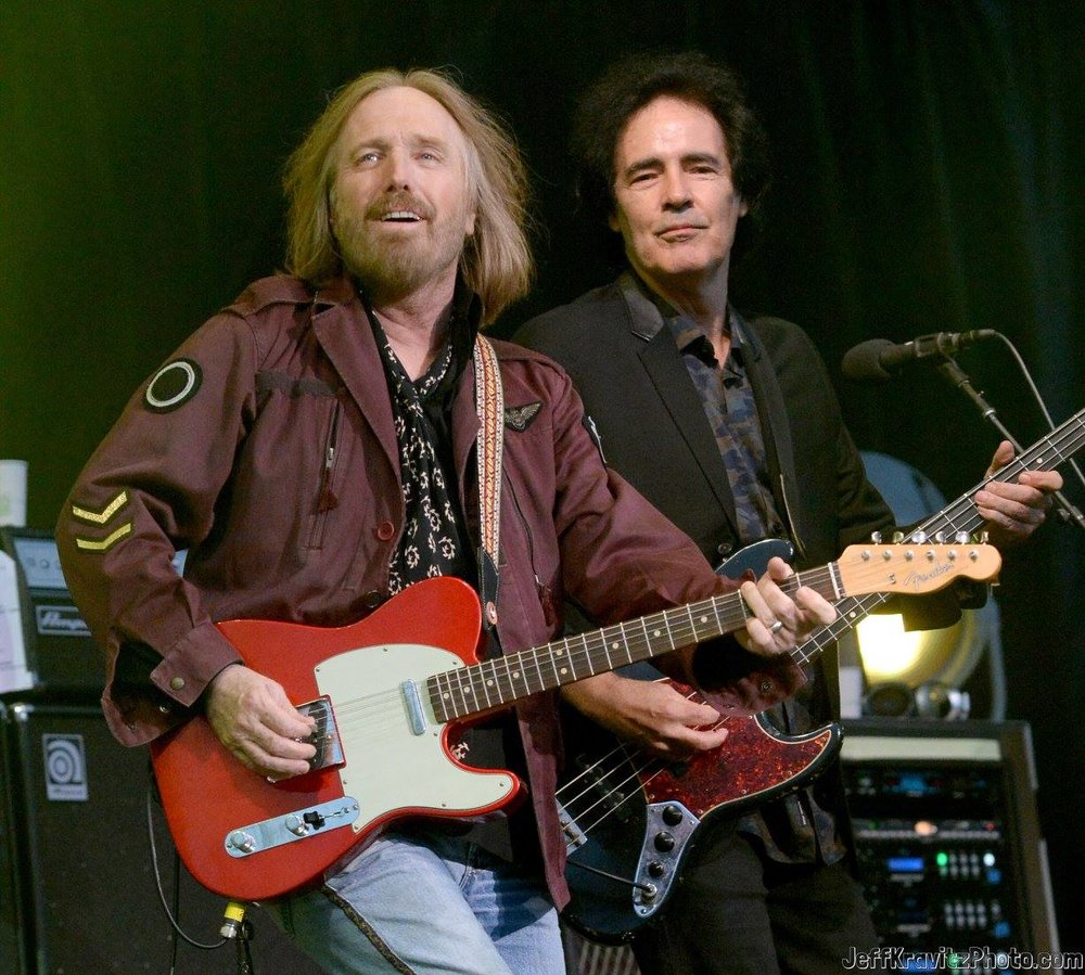 Tom Petty (L) and Ron Blair of Tom Petty & The Heartbreakers perform at the Lands End Stage during day 2 of the 2014 Outside Lands Music and Arts Festival at Golden Gate Park on August 9, 2014 in San Francisco, California.