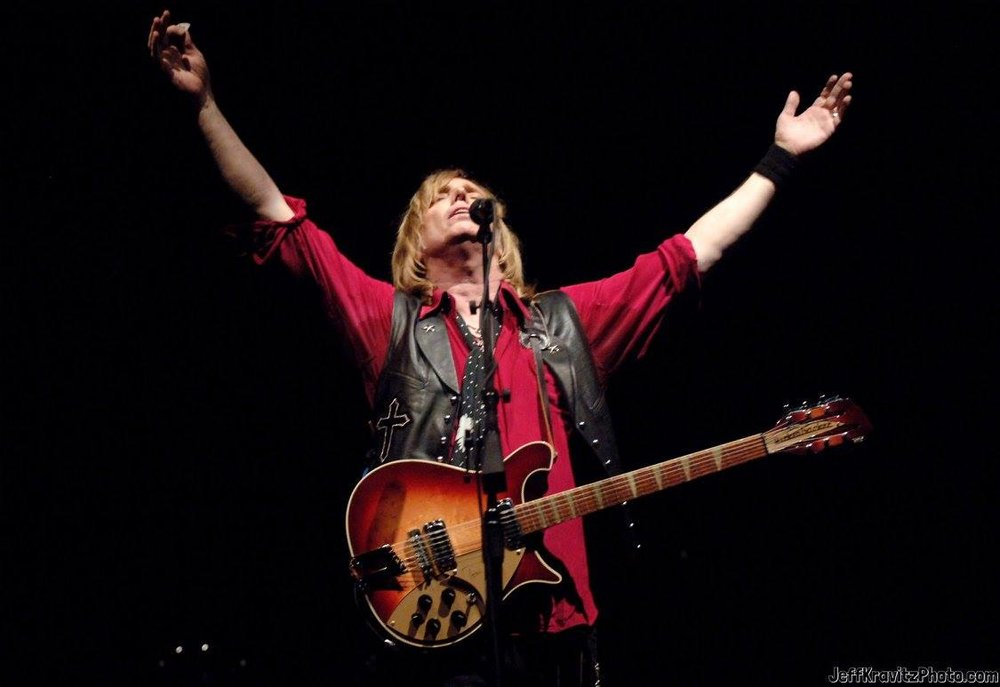 Tom Petty and the Heartbreakers during Bonnaroo 2006 - Day 1 - Tom Petty and the Heartbreakers at What Stage in Manchester, Tennessee, United States.
