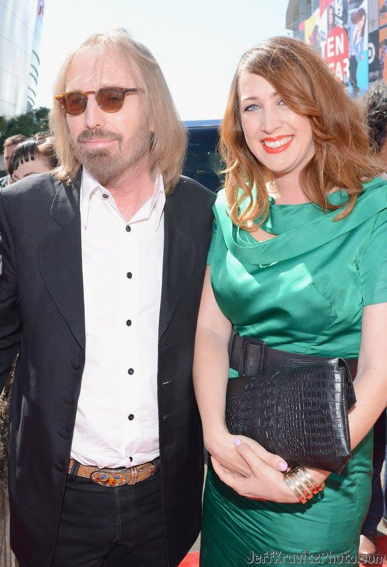 Tom Petty and Adria Petty arrive at the 2012 MTV Video Music Awards at Staples Center on September 6, 2012 in Los Angeles, California.