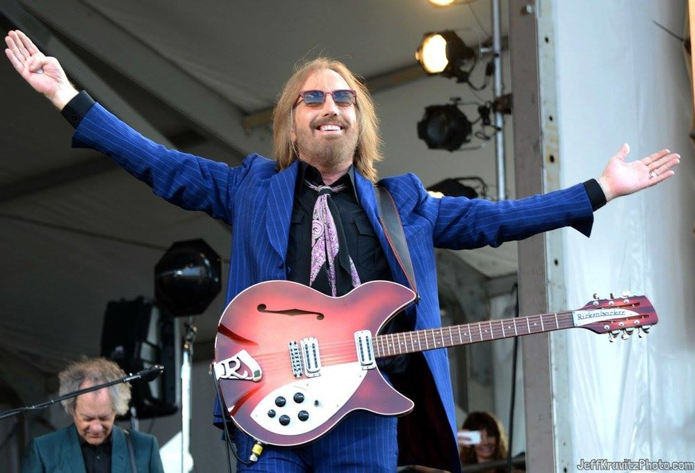 Tom Petty performs during the 2012 New Orleans Jazz & Heritage Festival at the Fair Grounds Race Course on April 28, 2012 in New Orleans, Louisiana.
