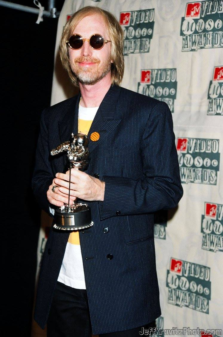 Tom Petty during 1994 MTV Video Music Awards at Radio City Music Hall in New York City, New York, United States.