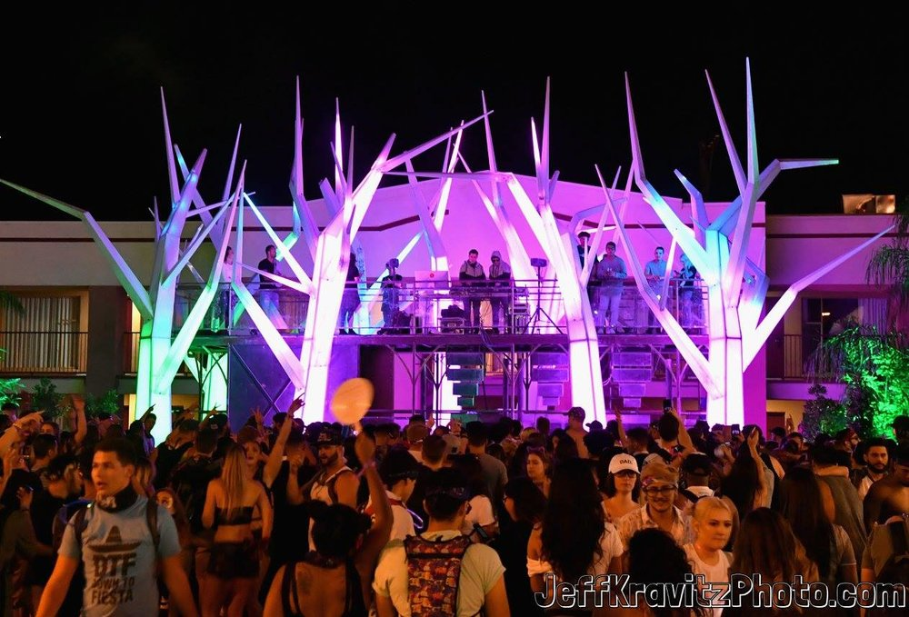 Festivalgoers attend day 1 of the 2017 Life Is Beautiful Festival on September 22, 2017 in Las Vegas, Nevada.