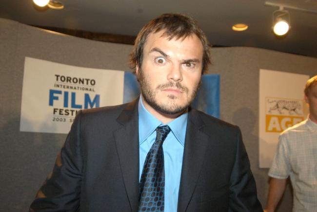 "Jack Black during 2003 Toronto Film Festival - ""School of Rock"" Press Conference at Delta Chelsea Hotel in Toronto, Ontario, Canada."